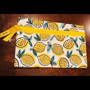 New Ipsy lemon make-up bag!